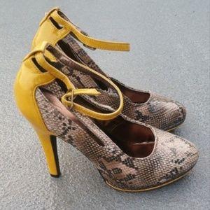 NEW Mark by Avon Sz 7.5 8 Vegan Leather High Heels